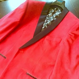 Other - Stylish red tuxedo jacket 🔥